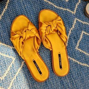 Zara Satin Sandals